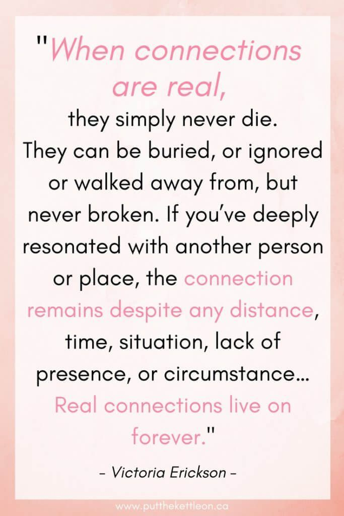 Spiritual Connections With Those We Ve Lost Connection Quotes Spiritual Love Quotes Spiritual Connection