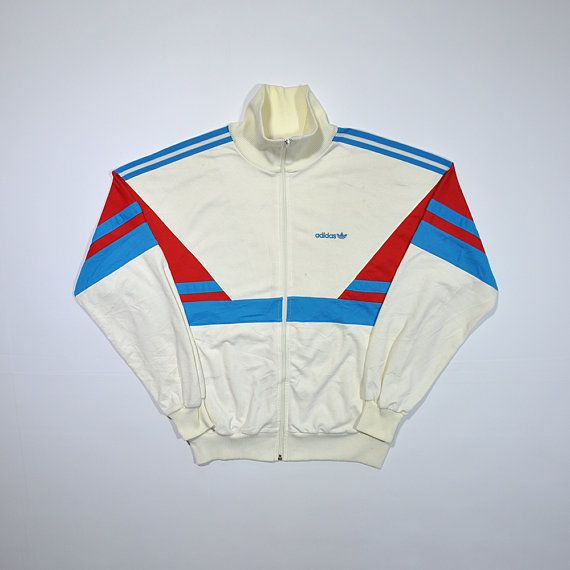 Rare Colorway Vintage 70s 80s ADIDAS Windbreaker Made in