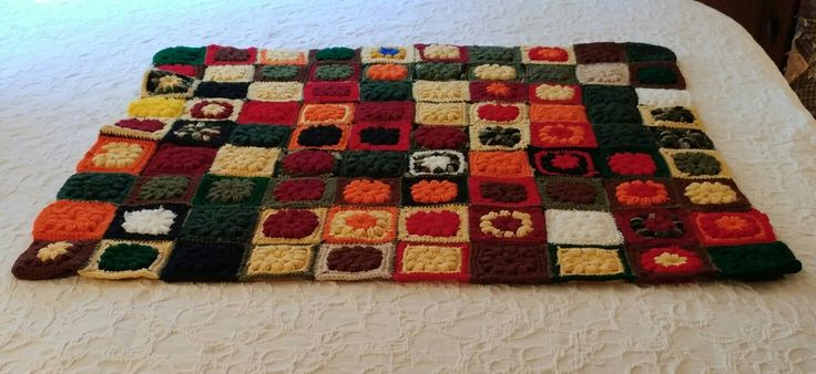 1000+ Ideas About Granny Square Blanket On Pinterest