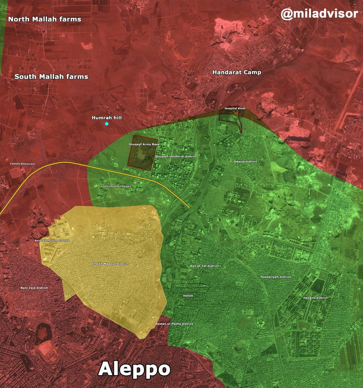 Map Of Poitiers%0A Syria Battle for Southern and Eastern Aleppo December     PM   SAA take  control Tall Hamrah TalShuqayf  in NW of  Shuqayf