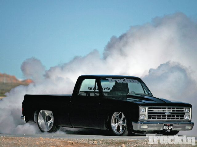 1982 Chevy C10 Burnout
