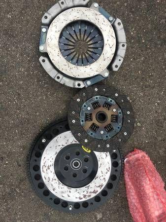 miata 1.6 xtd flywheel with oem clutch $100