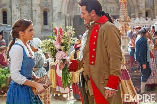 New picture of Belle and Gaston
