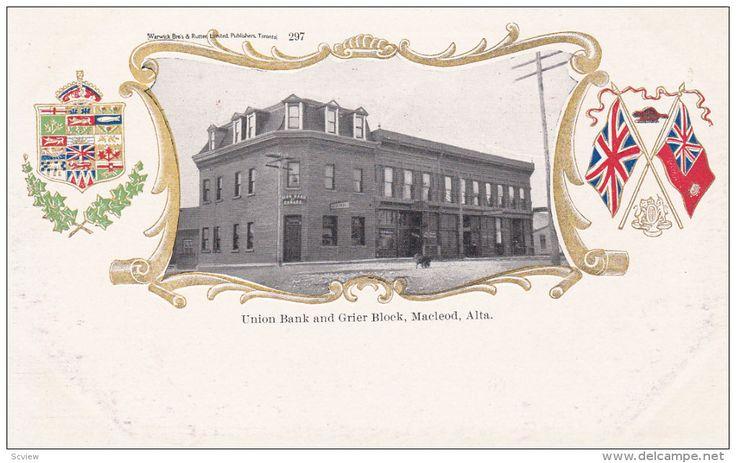 Union Bank & Grier Block , MACLEOD , Alberta , Canada , 00-10s