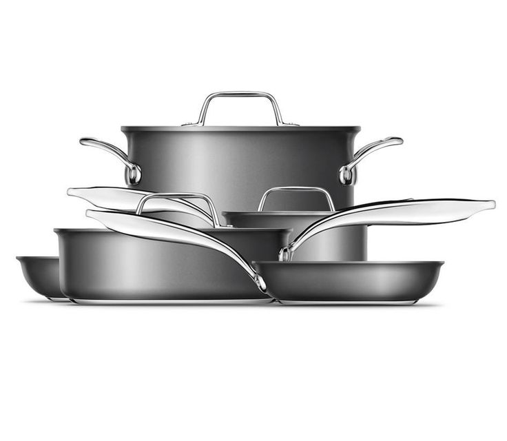 Thermal Pro™ Hard Anodized 10-Piece Cookware