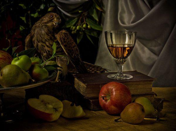 'Dutch Masters Inspired Still Life' by Scott Peterson, via Behance