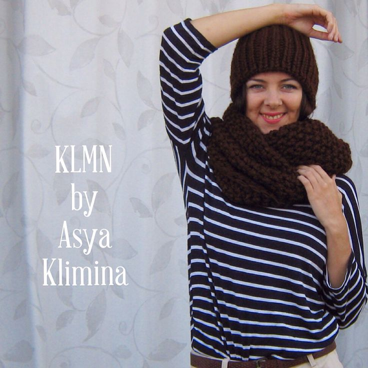 Brown scarf ☕️ #KLMN #AsyaKlimina #knitting #crochet #madrid #leganes #spain #winter #autumn #look #mood #lookoftheday #scarf #brown #cofee #coffeetime #love #lovemyjob #handemade
