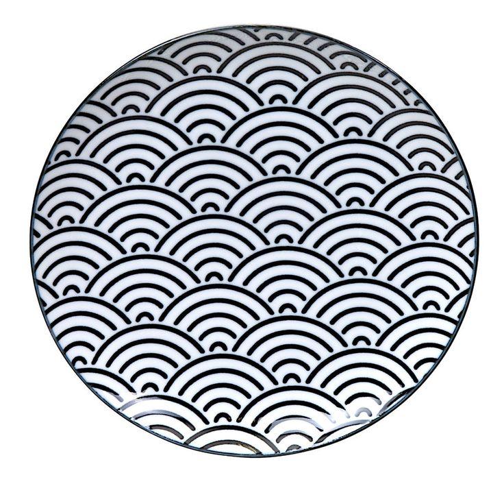 Dessertteller Porzellan Teller Japan Kuchenteller Unterteller Geschirr plate