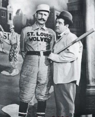 """Who's On First"" * Popular Abbott and Costello routine concerning a baseball team and the confusion over player names."