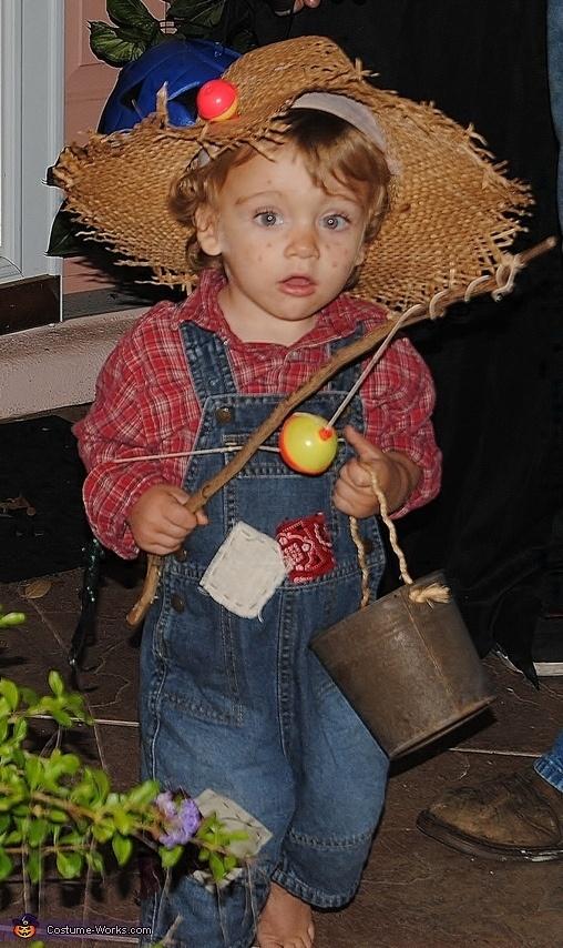 DIY Huckleberry Finn costume - Halloween Costume Contest