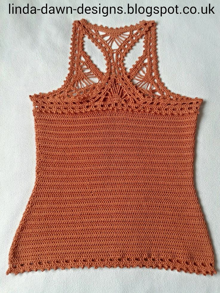 Free Crochet Patterns For Sleeveless Tops : 17 Best images about large size crochet clothes on ...