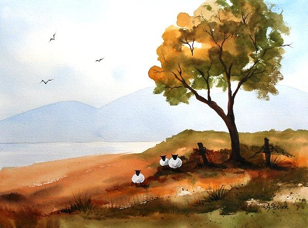 Easy Watercolor Paintings For Beginners