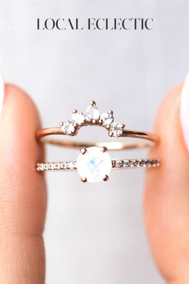 How To Pick The Best Jewelry Available Gold Moonstone Ring Rose Gold Moonstone Ring Art Deco Engagement Ring