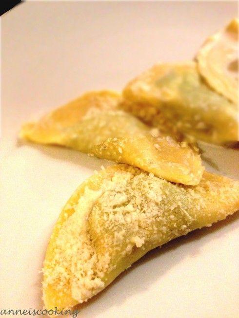 raviolits poulet coriandre