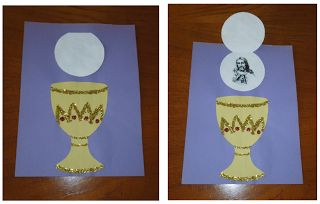 The Catholic Toolbox: Crafty Crafters: Holy Communion For First Communion