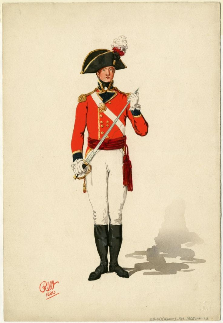 Marine Officer 1805