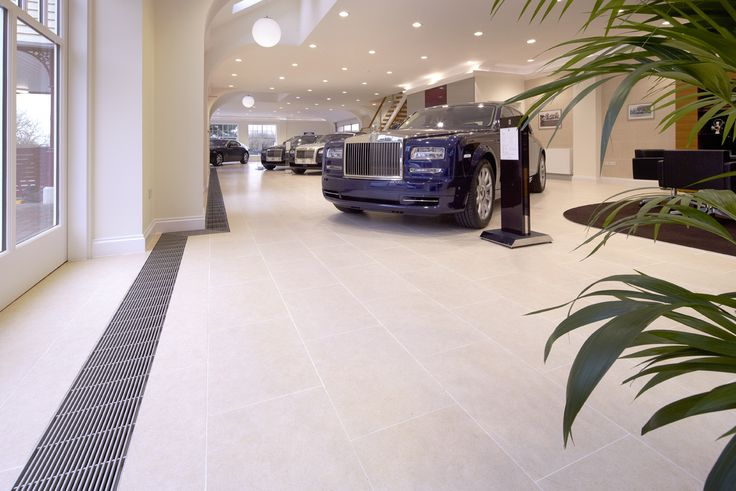 The Rolls Royce Showroom Needed A Heating System That Would Blend