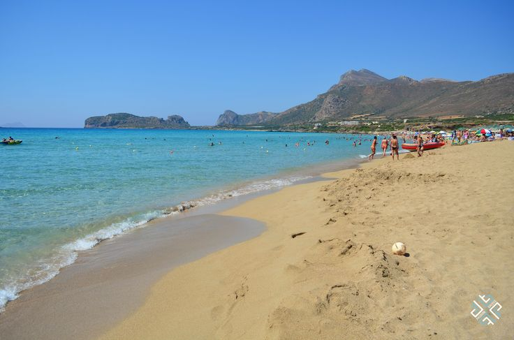 Falassarna beach is one of the most beautiful beaches in Crete and is on the list of the top 10 beaches in Europe #passionforgreece #beaches #crete #chania