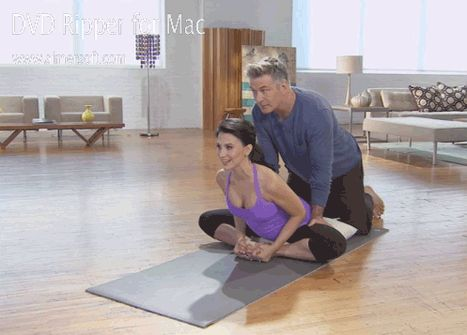 Alec Baldwin in Prenatal Yoga DVD: Star Awkwardly Assists Wife Hilaria - Us Weekly Love !!!!! Love Alec Baldwin~~~~~~!!!!!!!