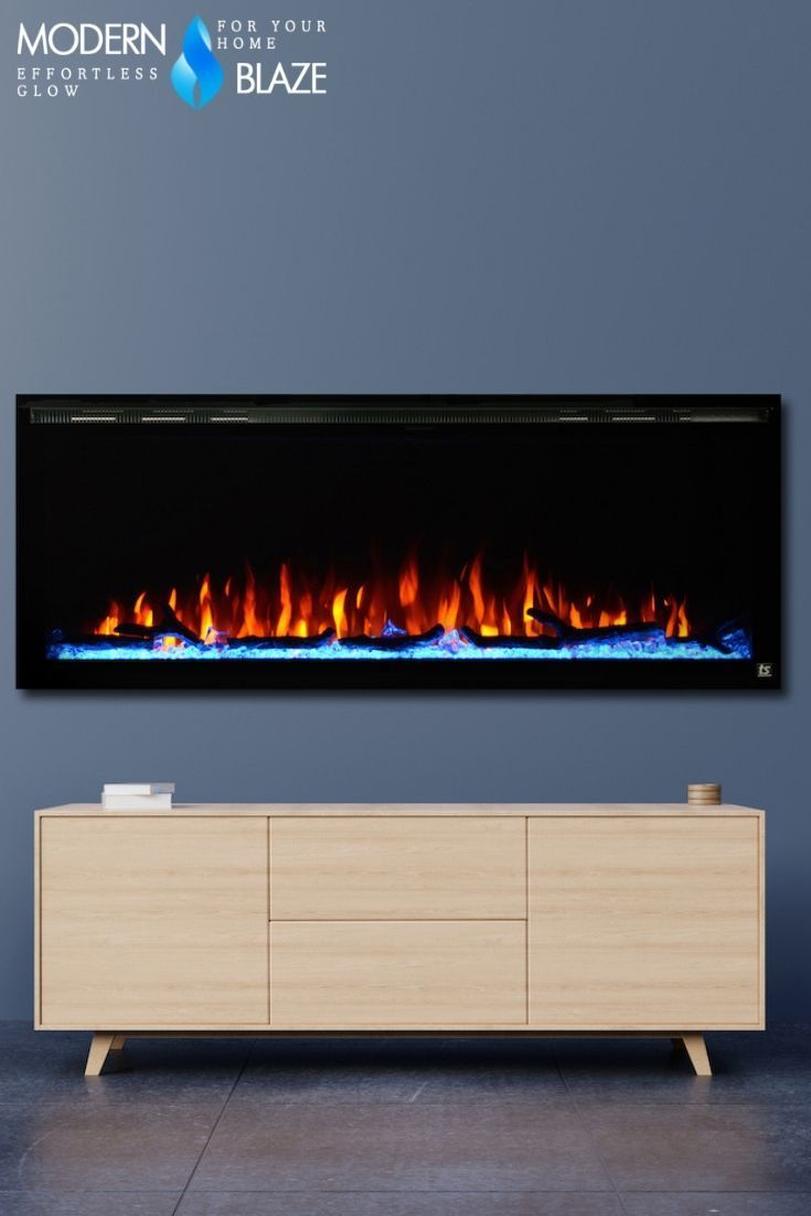 Touchstone Sideline 50 Elite 50 Recessed Electric Fireplace