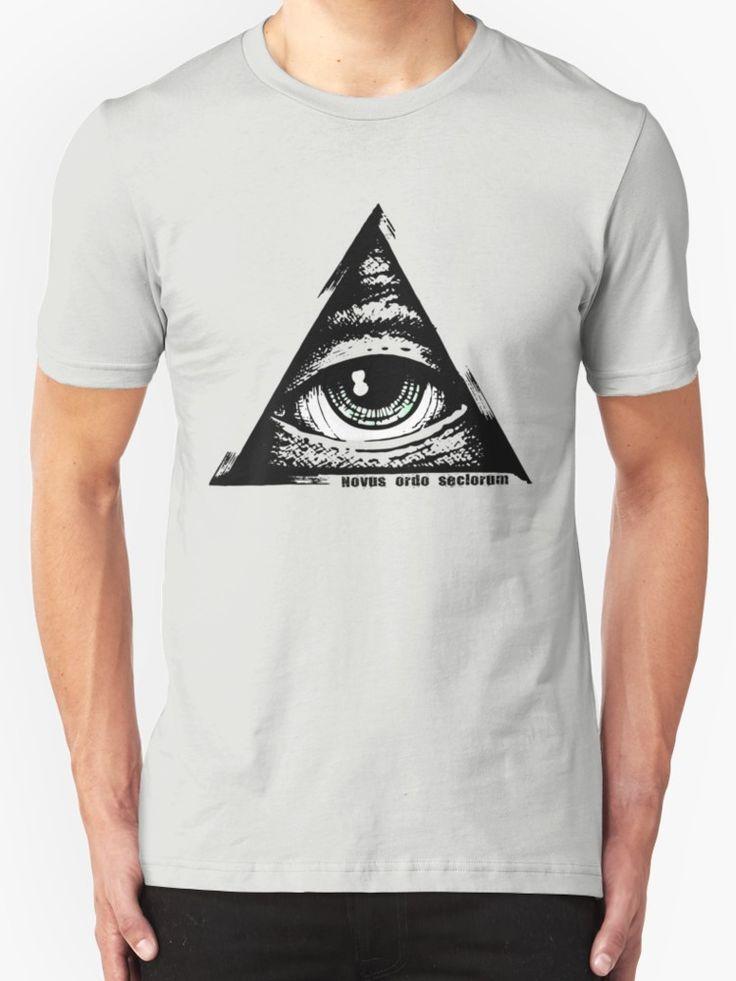 Eye Of Providence - All Seeing Eye - Novus ordo seclorum  by ShayleaDesign