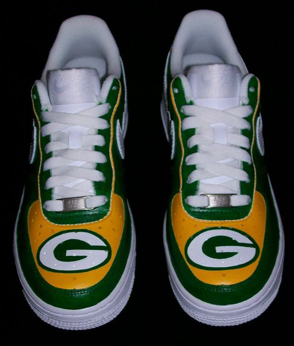 The Best Green Bay Packers Custom Shoes #greenbay #packers #cheeseheads #greenbaypackers #nfl #football #customshoes