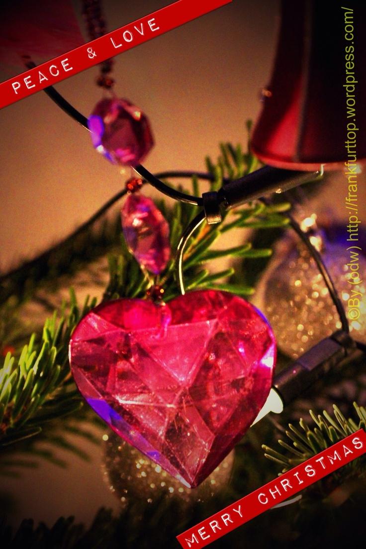 Peace & Love, merry Christmas!
