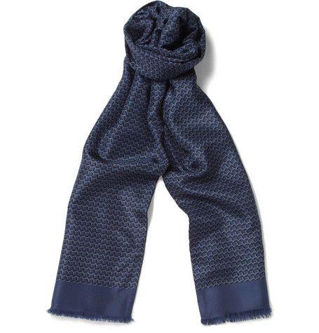 Lanvin Printed Silk Scarf | MR PORTER