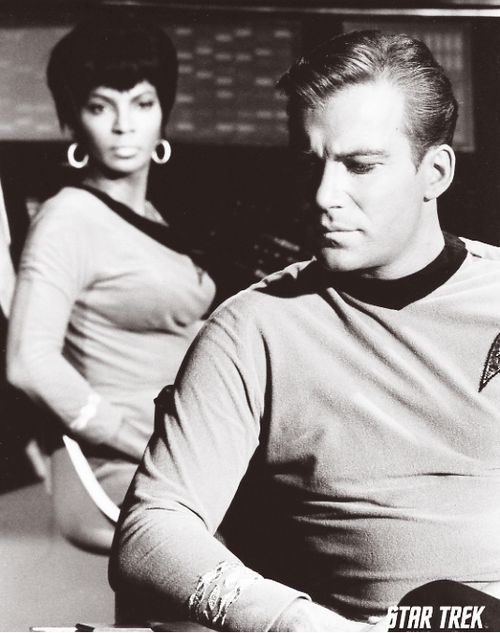 Uhura & Kirk: Star Trek the Original Series