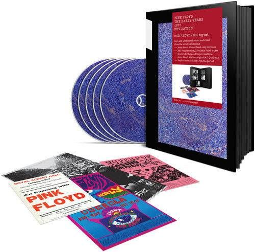 awesome The Pink Floyd, Pink Floyd - 1970 Devi/ation  With Blu-Ray, With DVD, Bo