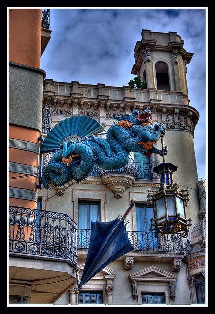Casa de los Paraguas  Casa  Bruno  Barcelona