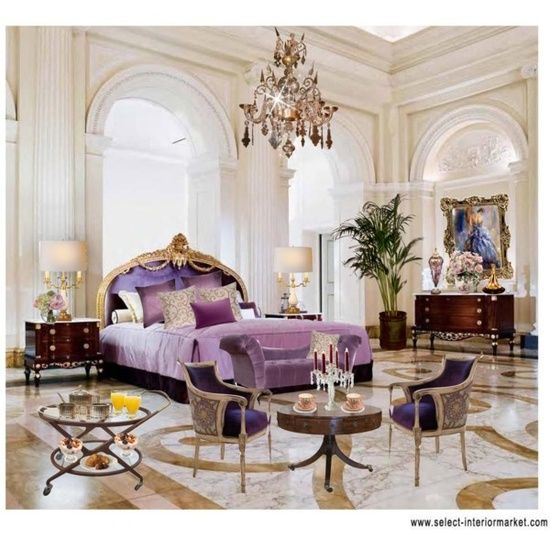 Master bedroom luxury