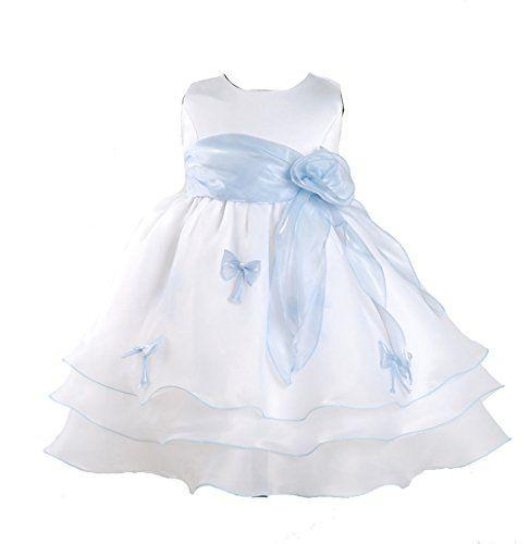 Nuova offerta in #abbigliamento : Cinda Ragazze Partito Vestito Blu e Bianco 12-18 Mesi a soli 17 EUR. Affrettati! hai tempo solo fino a 2016-09-20 23:34:00