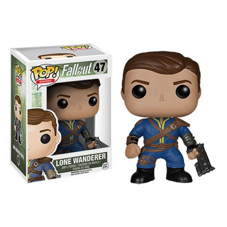 The Fallout Pop! series includes both a male and female Lone Wanderer, the protagonist from Fallout 3, alongside a slew of enemies. No Fallout collection would be complete without a Deathclaw Pop!, one of the most fearsome mutant dwellers of the Wasteland or a lethal soldier from the Brotherhood of Steel! You may want to seriously consider adding the unnatural brawn of a Super Mutant and impulsively savage Ghoul to your group too! And get ready! Vault Boy - essentially the mascot and face of…