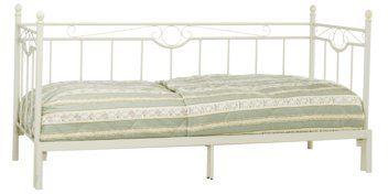 Łóżko PARADIS podwójne 80/160x200cm krem | JYSK