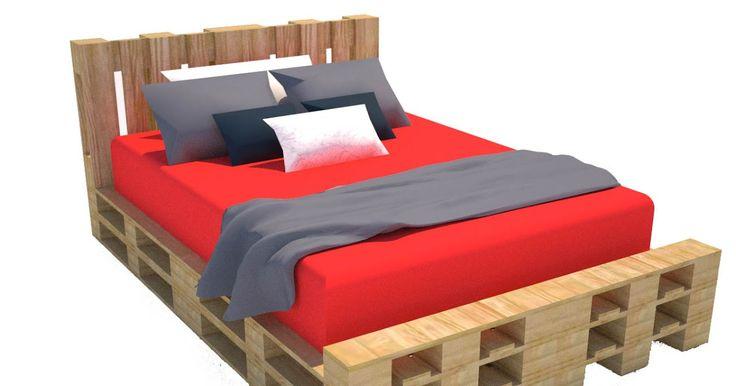 Oltre 25 fantastiche idee su costruire un letto su pinterest telaio di letto fai da te e letti - Costruire testata letto ...