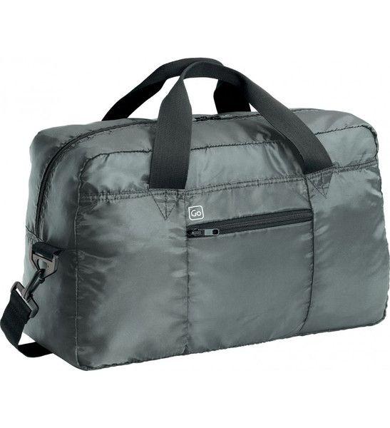 Go Travel Xtra Travel Bag: Gun Metal