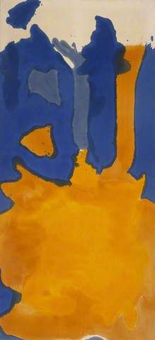 Helen Frankenthaler paintings - Helen Frankenthaler 1928–2011 Nationality: American (b New York, 12 Dec. 1928). American painter, an important figure in the transition from Abstract Expressionism to Colour Field Painting. In her early work she was influenced by Jackson Pollock and she developed his drip technique by pouring and running very thin paint—like washes of watercolour—onto canvases laid on the floor - from http://www.bbc.co.uk/arts/yourpaintings/artists/helen-frankenthaler-1113