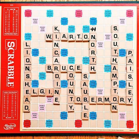 BRUCE COUNTY SCRABBLE    Re-posting this one, because it's #NationalScrabbleDay!