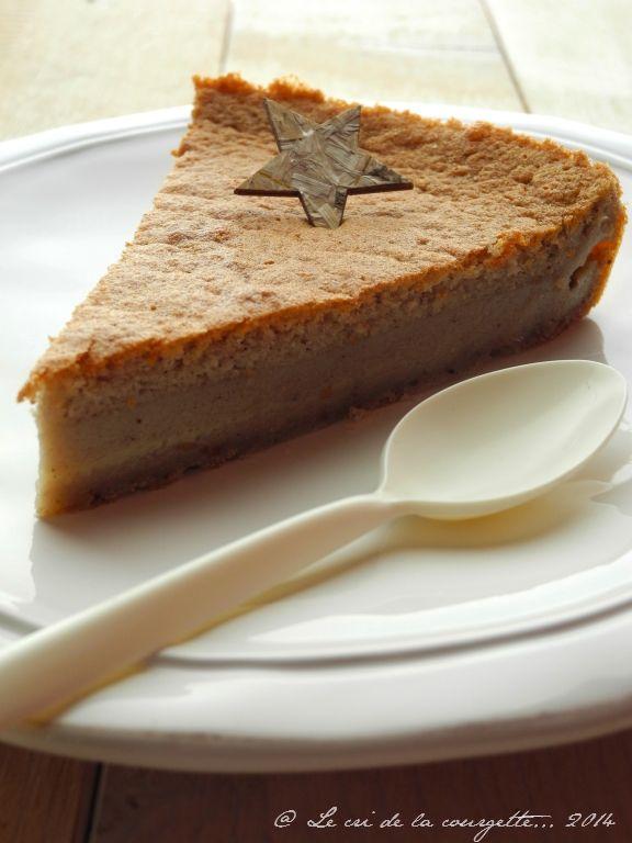 Gâteau magique châtaigne et amande {sans gluten ~ sans lactose} | Blog de recettes bio : Le cri de la courgette...