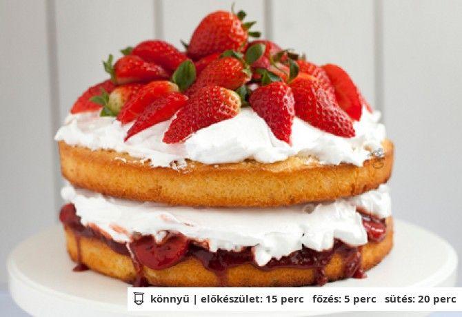 epres viktoria torta