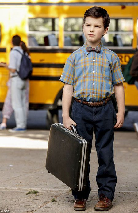 Iain Armitage, actor playing role of Young Sheldon Cooper. Know his Career and Journey