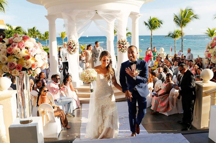 Destination Wedding at Barcelo Maya Palace | Mexico wedding venues beach (FineArt Studio Photography)