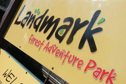 A great day out with Fun, Discovery And Adventure for the whole family In The Highlands. Landmark Park is situated at the south end of the village of Carrbridge, which is 23 miles south of Inverness and 7 miles north of Aviemore, just off the A9.