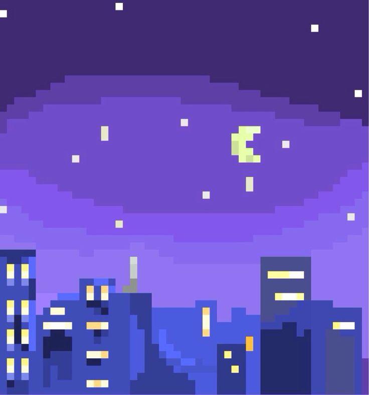 City Landscape // Pixel Sketch