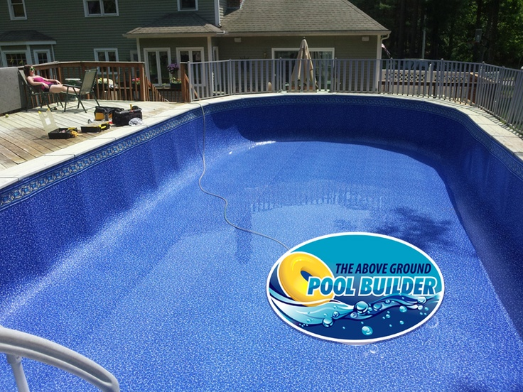18x40 Oval Sharkline Above Ground Pools Pinterest