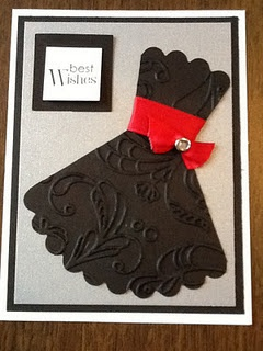 Scallop Circle Dress Card from Stampin in the Rain...link incorrect though so don't bother