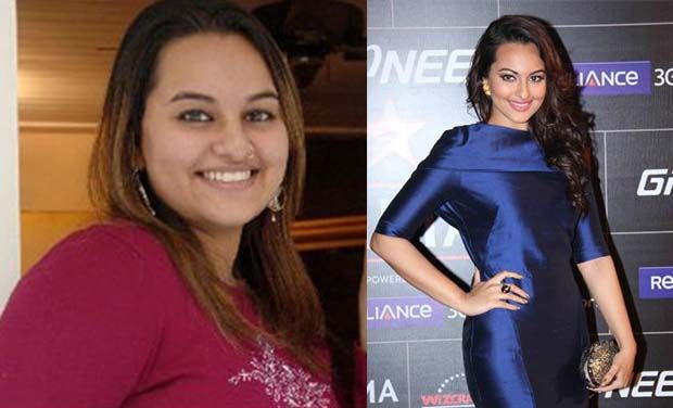 Celebs  who went from fat to fab- Sonakshi Sinha