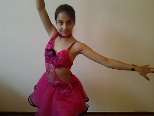 Butterfly Latin Dance Dress (Pink ;)