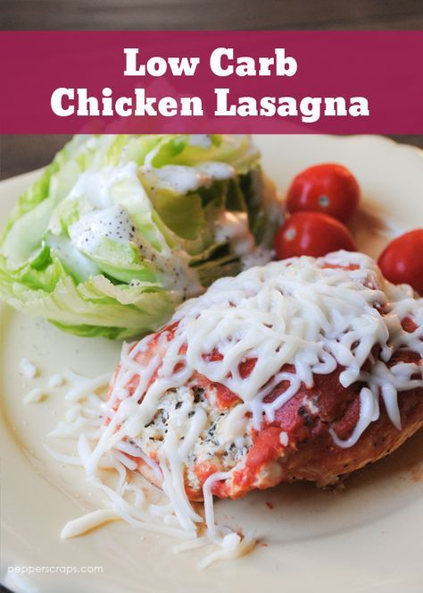 Low Carb Chicken Lasagna Crock Pot Recipe